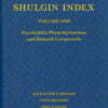Shulgin Index