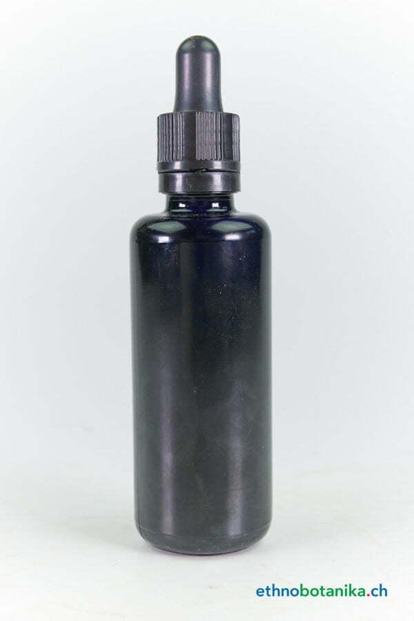 Violettglass Flasche 50ml
