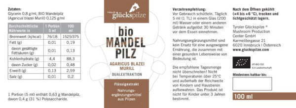 mandelpilz abm agaricus blazei murril bio fluessigextrakt 100ml 02