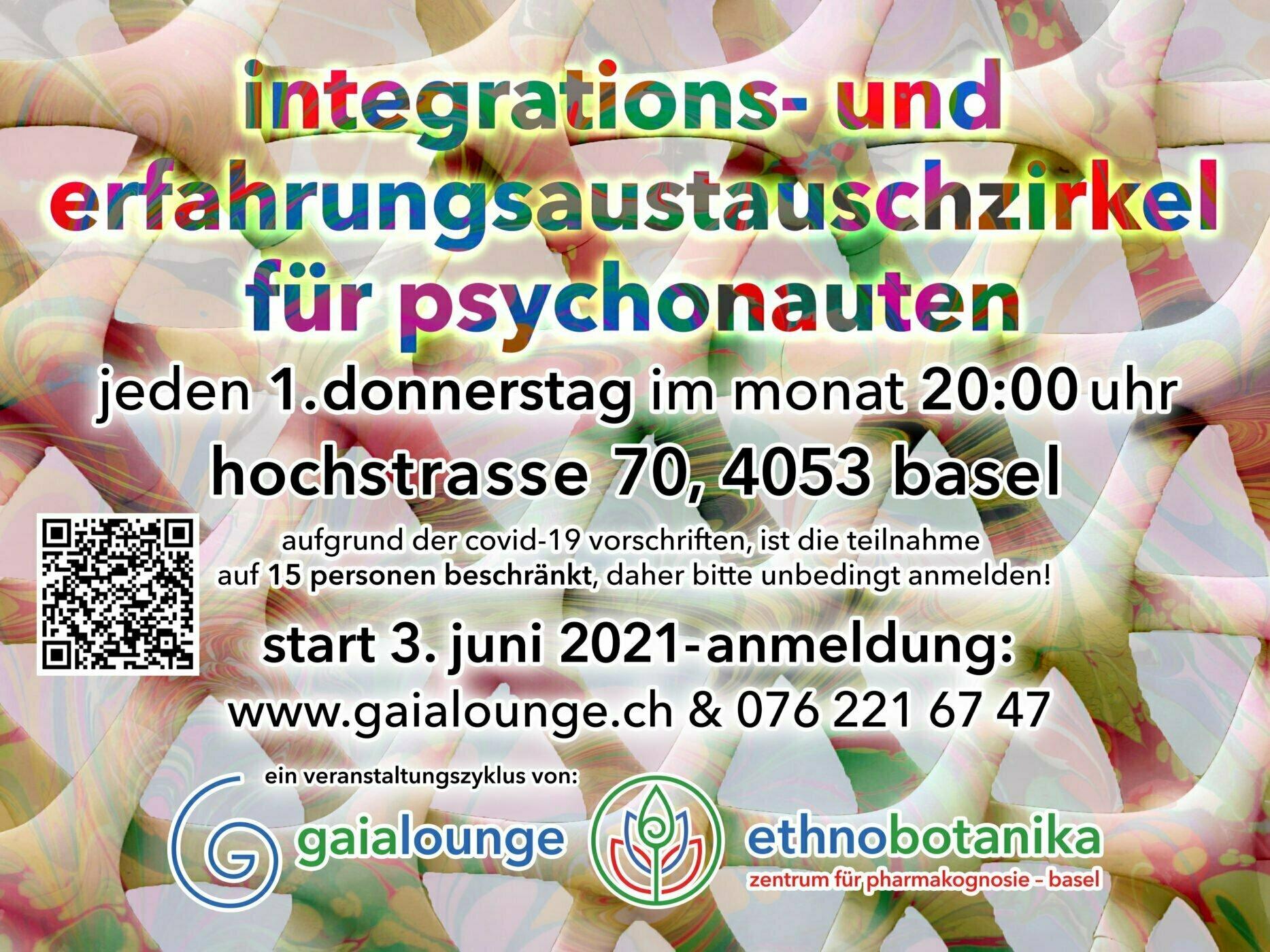 Integrations und Erfahrungsaustauschzirkel fuer Psychonauten v.1