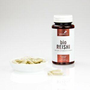 reishi ling zhi pulver bio ganoderma lucidum bio pilzpulverkapseln 120 stk